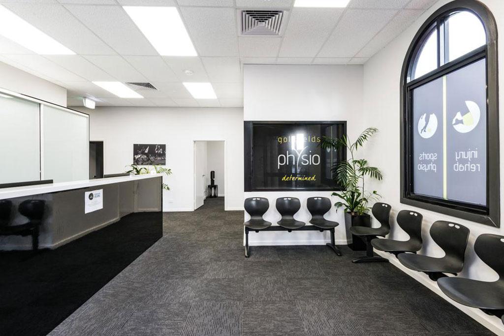 Goldfields Physio reception area